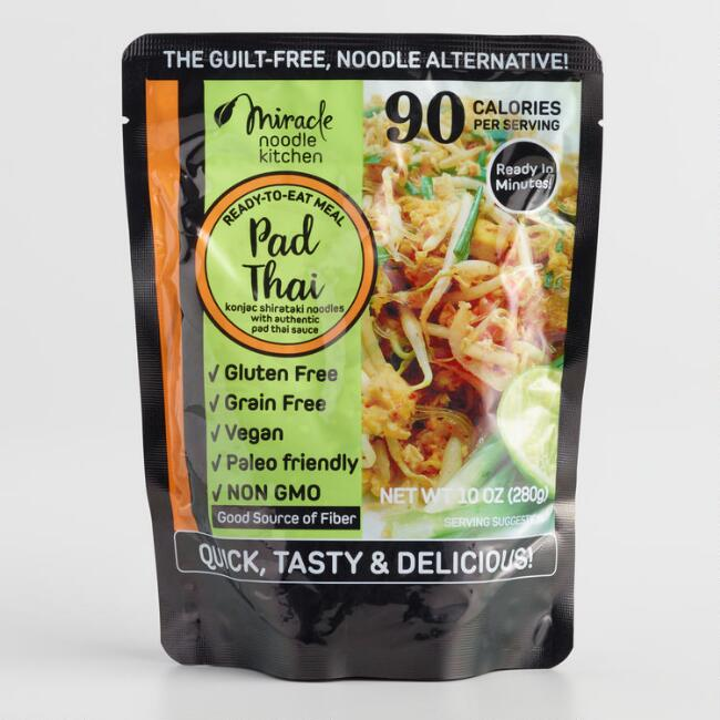 Miracle Noodle Ready to Eat Vegan Pad Thai Set of 6