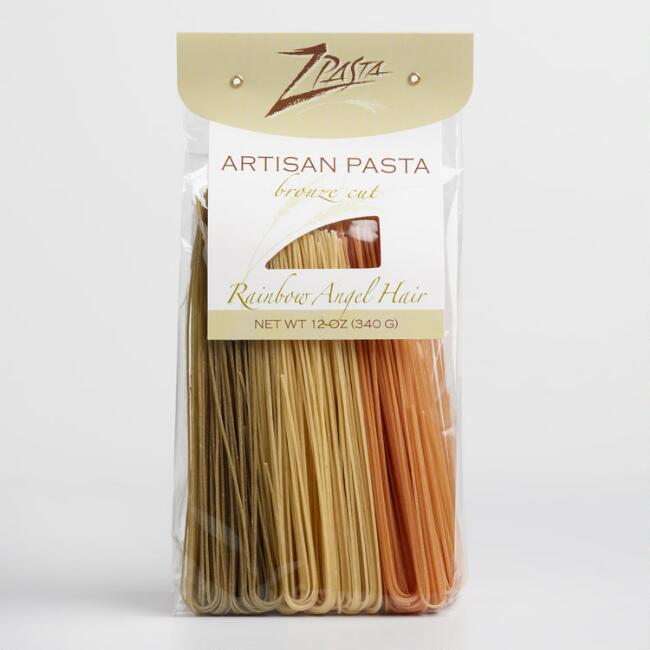 Z Pasta Rainbow Angel Hair Pasta