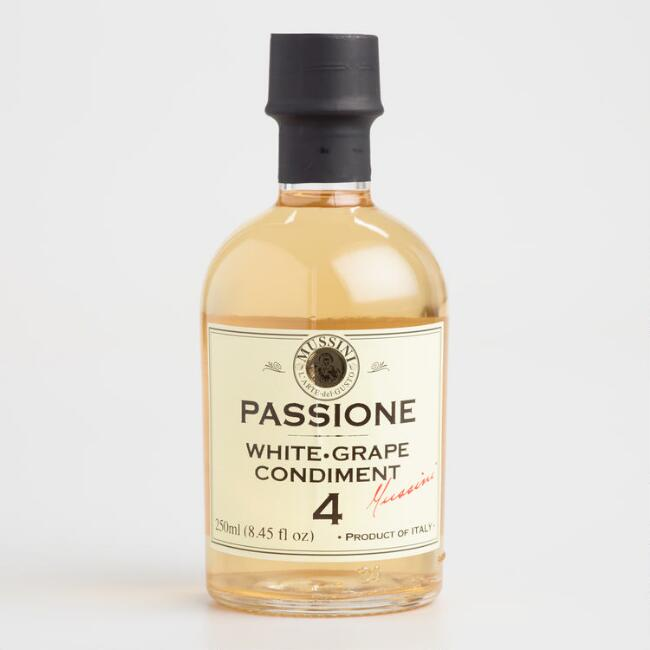 Mussini Passione White Balsamic Vinegar