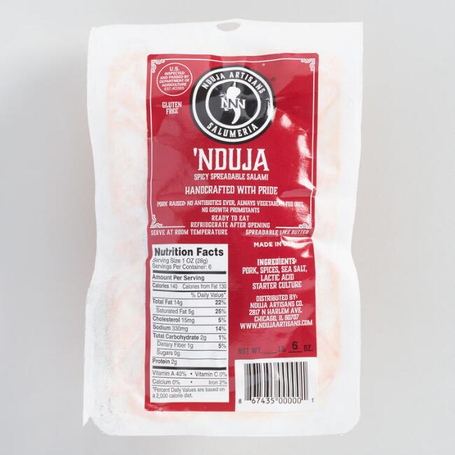 Nduja Artisans Spicy Spreadable Salami