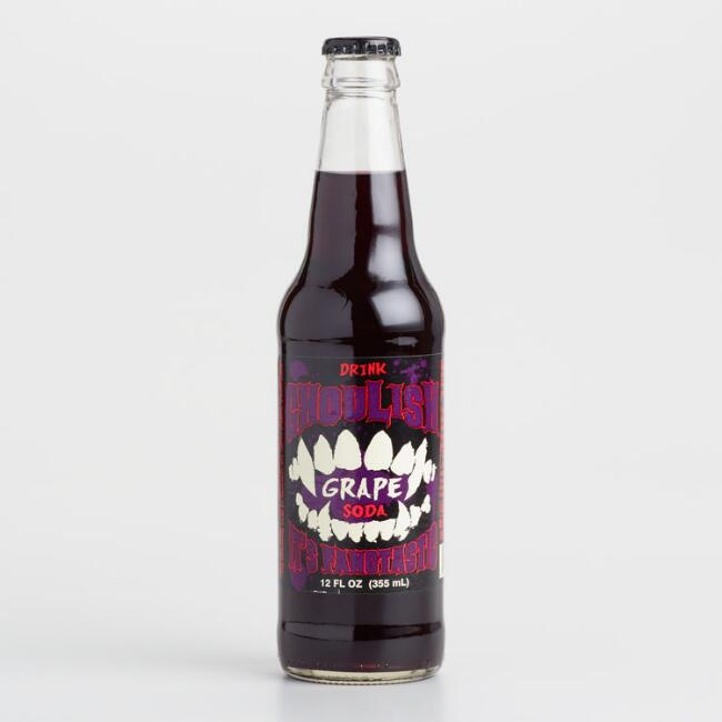 Ghoulish Grape Soda