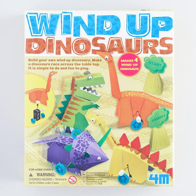 4M Wind Up Dinosaurs Kit