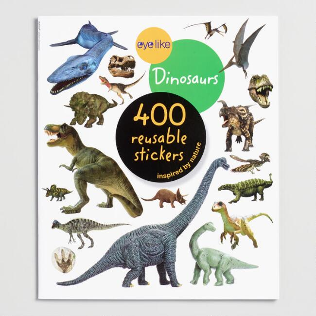 Eyelike Stickers: Dinosaurs Book