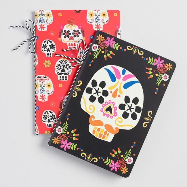 Day of the Dead Journals Set of 2
