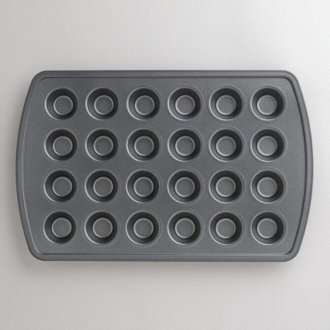 Metal Nonstick 24c Mini Muffin Pan