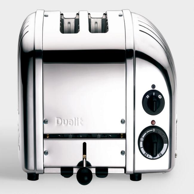 Dualit Chrome New Generation Classic 2 Slice Toaster