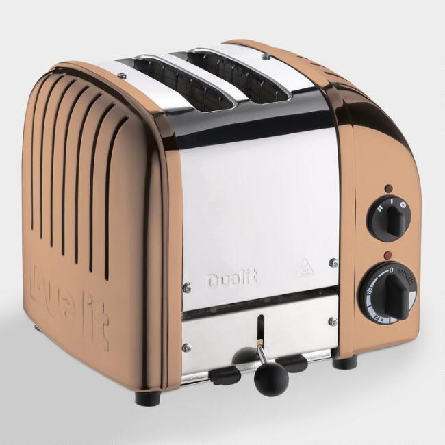 Dualit Copper New Generation Classic 2 Slice Toaster