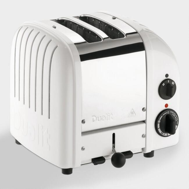 Dualit White New Generation Classic 2 Slice Toaster
