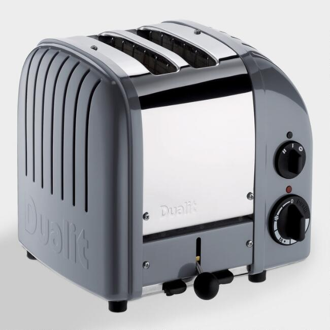 Dualit Cobble Gray New Generation Classic 2 Slice Toaster