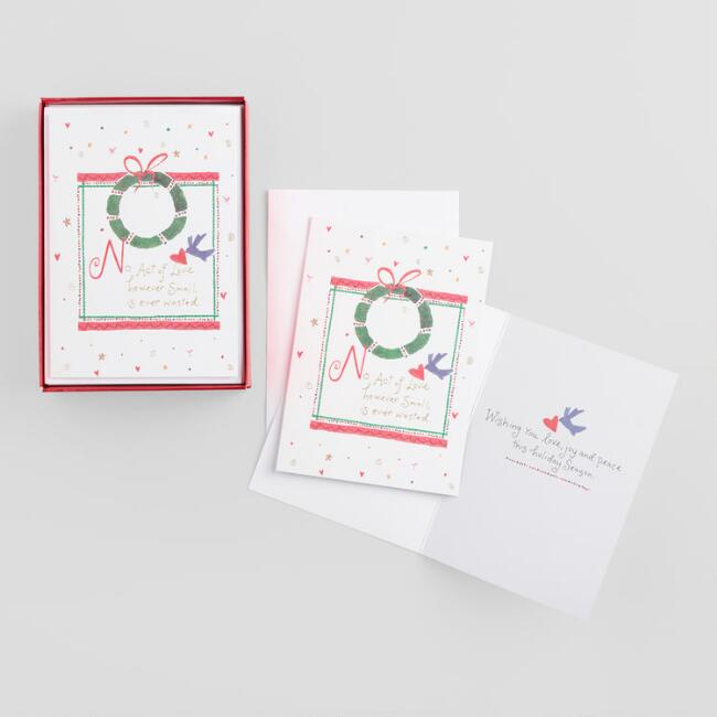 No Act of Love Boxed Holiday Cards Set of 15