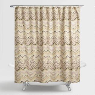 pink and gold shower curtain. Blush Pink Marble Florence Shower Curtain Curtains  Rings World Market