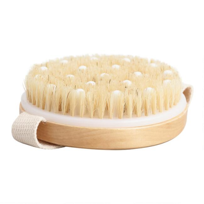 Round Dry Body Brush