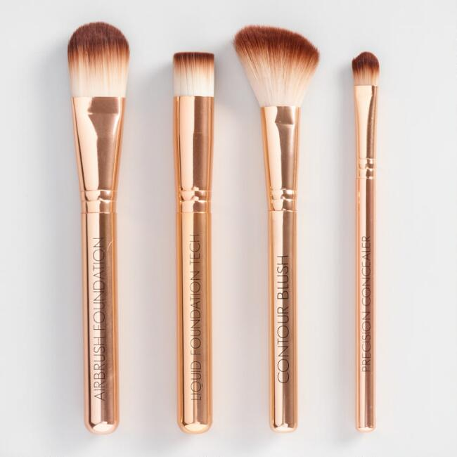 Hello Gorgeous Makeup Brushes Set of 4