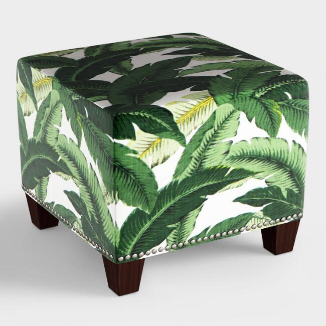 Swaying Palm McKenzie Upholstered Ottoman