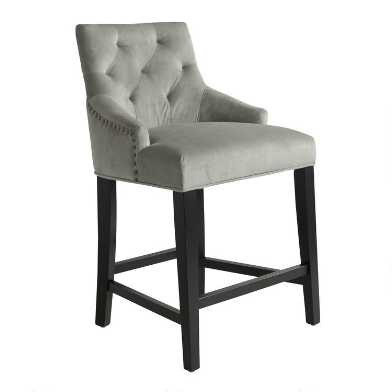 Tufted Lydia Upholstered Counter Stool