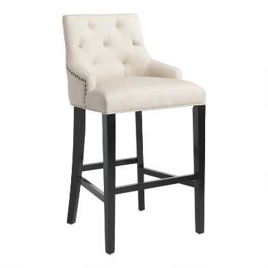 Tufted Lydia Upholstered Barstool