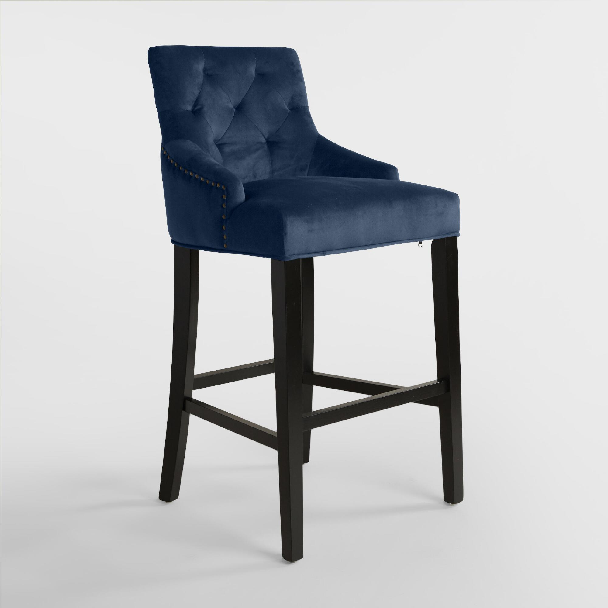 size of leather color navy carmilla on swivel stool na frightening kitchen height winning stools bar blue in archived damask awesome furniture full blueer ideas