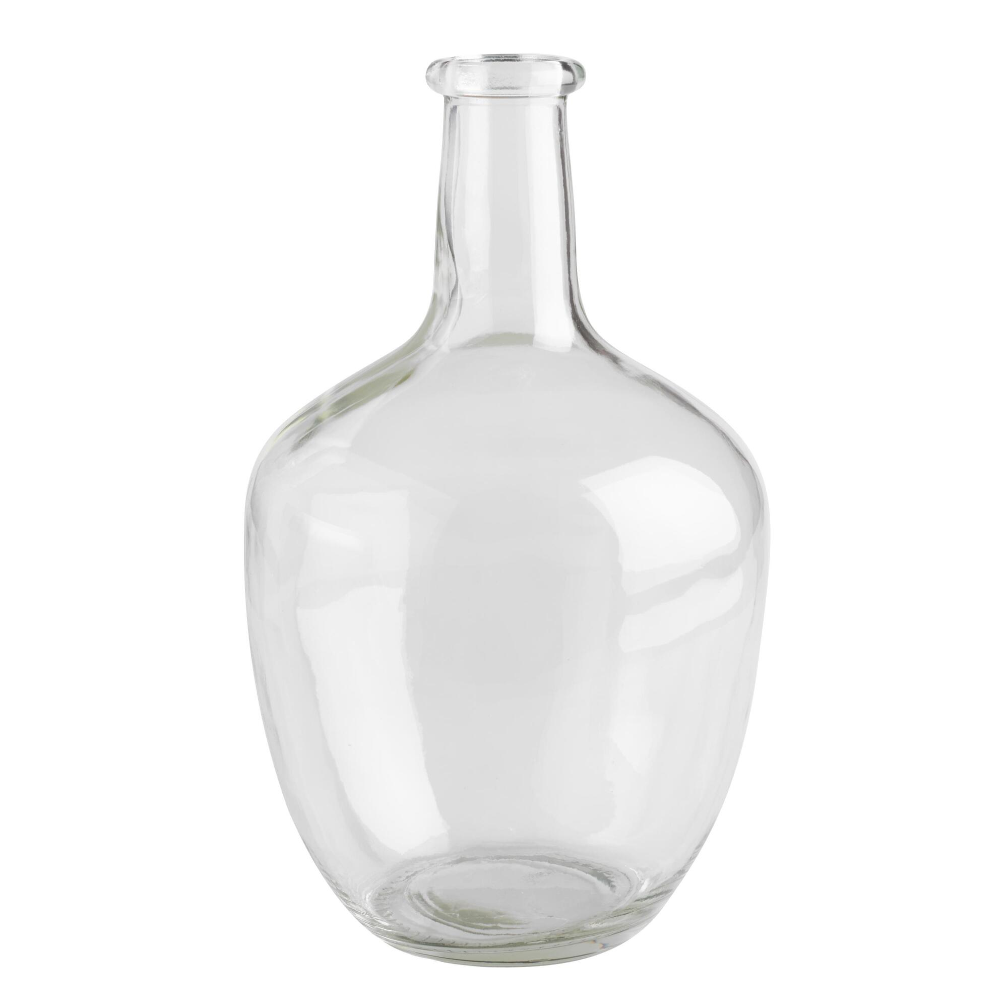 Vases glass vases vase fillers world market long neck clear glass vase reviewsmspy