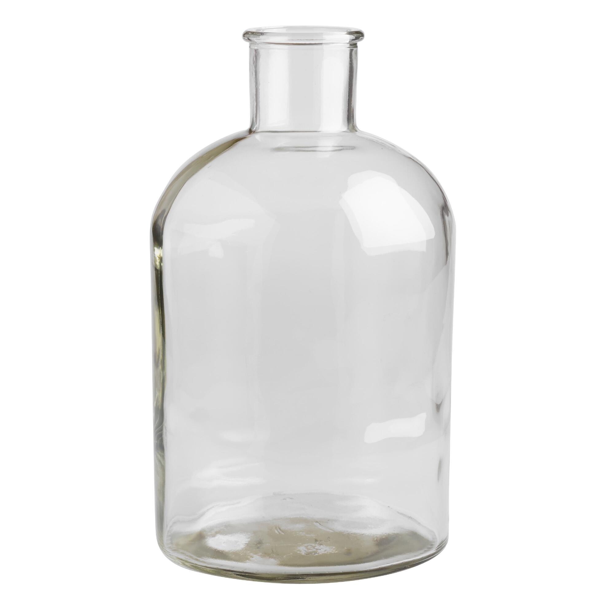 Wide neck clear glass vase world market reviewsmspy