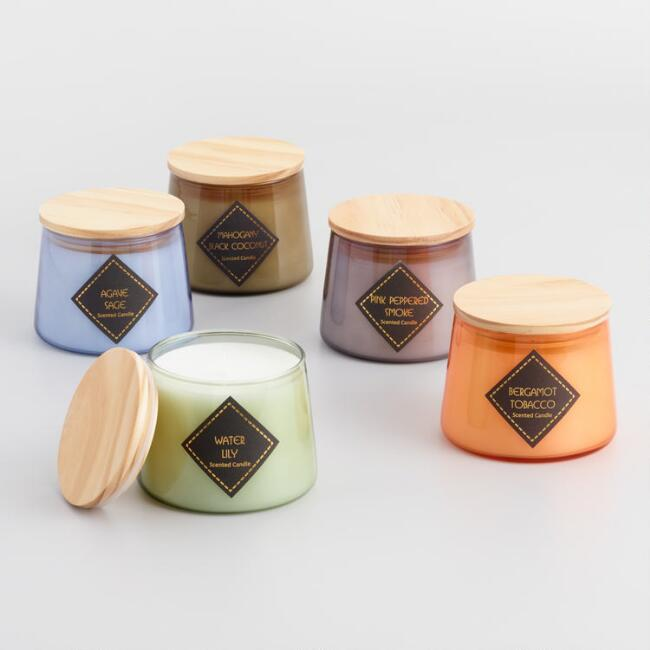 Scented Filled Jar Candle Collection