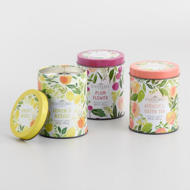 Castelbel Scented Candle Tin Collection