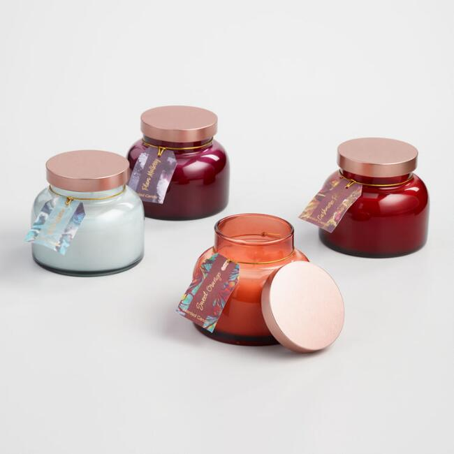 Scented Filled Bell Jar Candle Collection