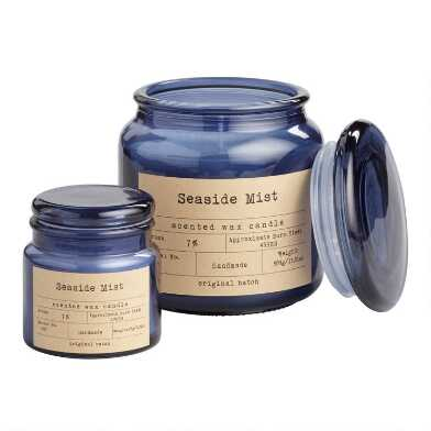 Seaside Mist Filled Apothecary Jar Candle