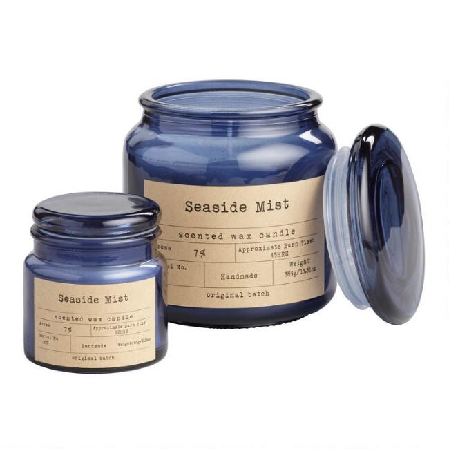 Seaside Mist Apothecary Scented Candle