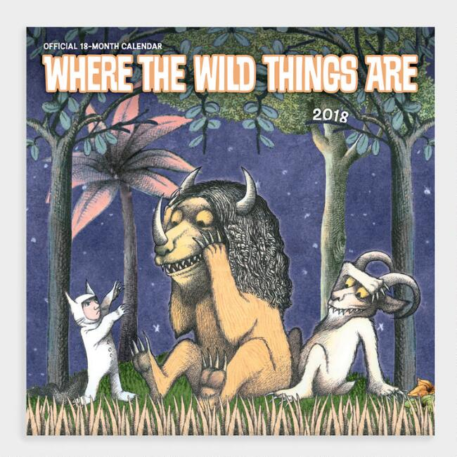 Where the Wild Things Are Wall Calendar
