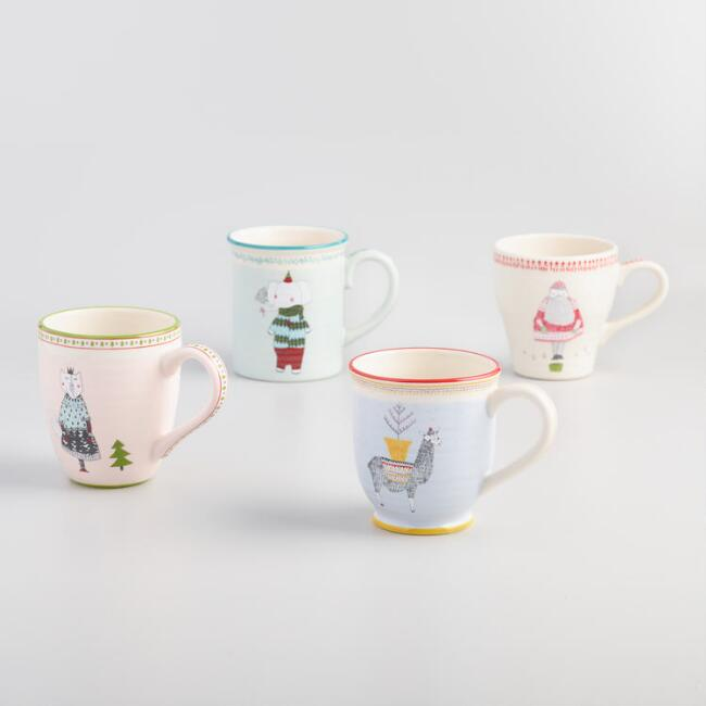 Sweater Weather Mugs Set of 4