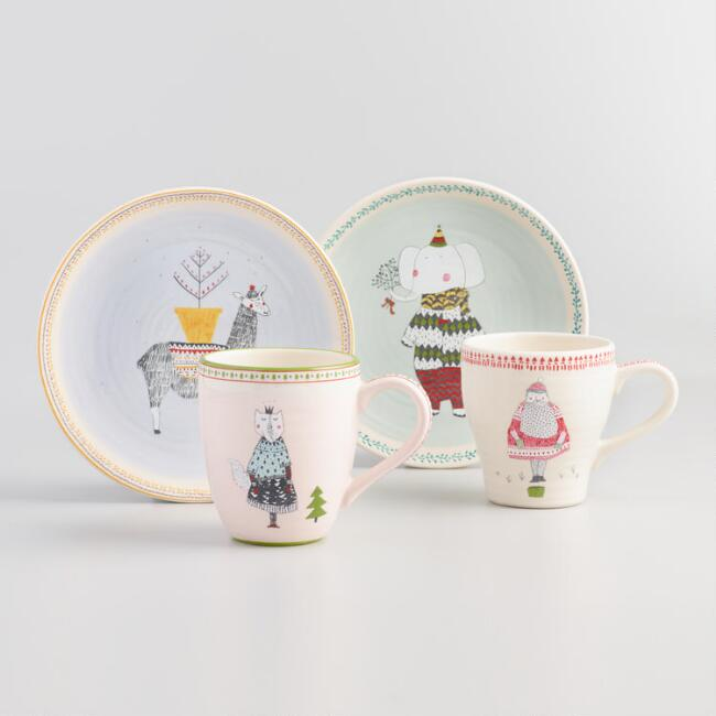 Sweater Weather Dinnerware Collection