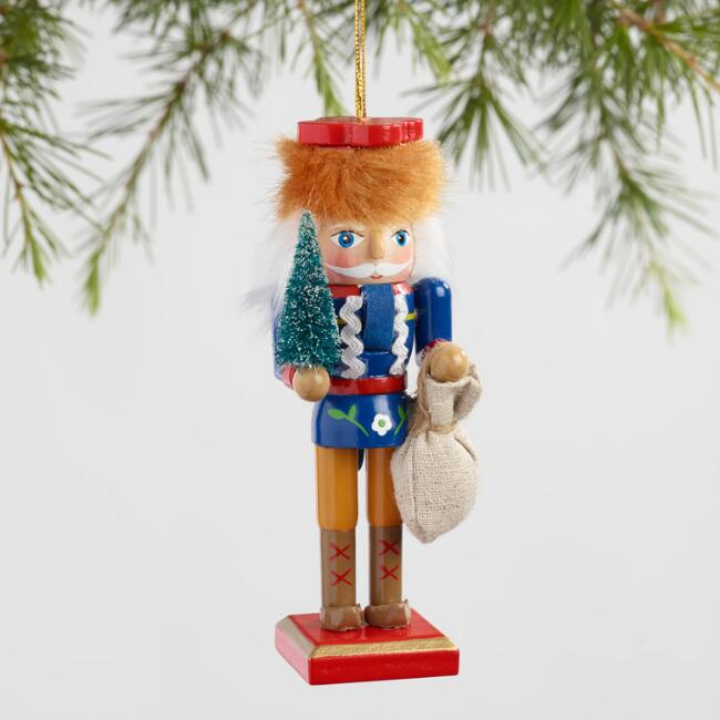 International Santa Nutcracker Ornaments Set of 6