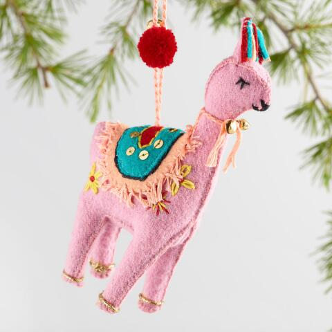 v1 - Llama Christmas Decoration