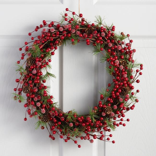 Berry and Pine Wreath