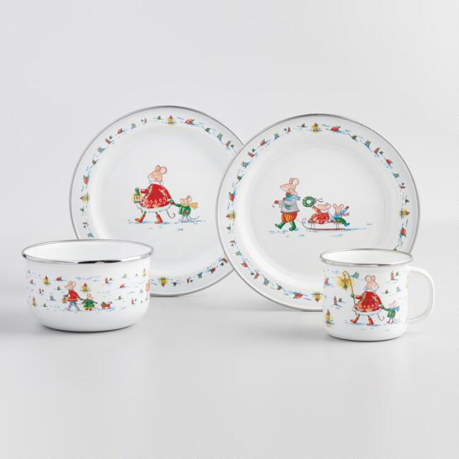 Sweetest Season Enamel Dinnerware Collection