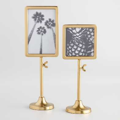 Gold Telescoping Tabletop Frame
