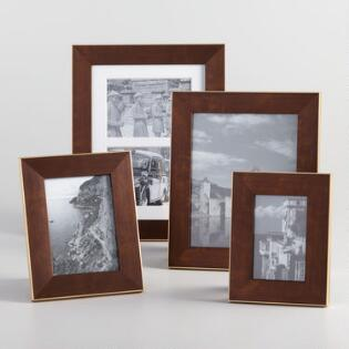bronze and gold portofino tabletop frame - Distressed Picture Frames