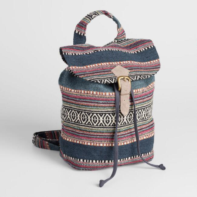Gray Carpet Backpack