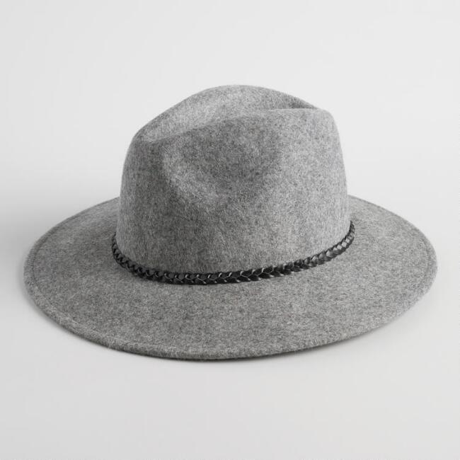 Grey Wool Rancher Hat