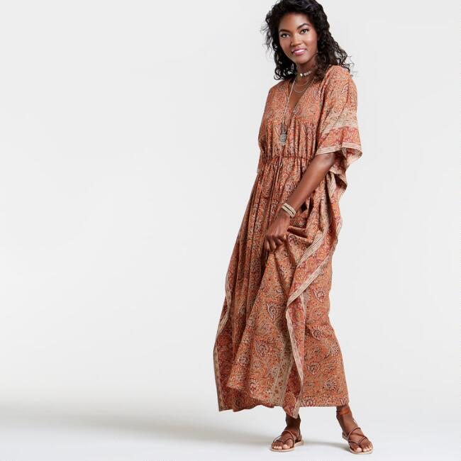 Long Rust Mika Kaftan