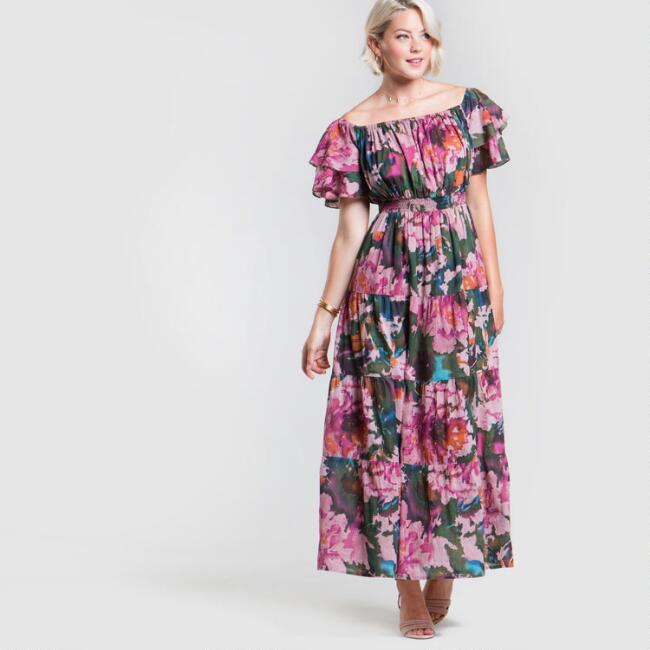 Floral Printed Scarlett Dress