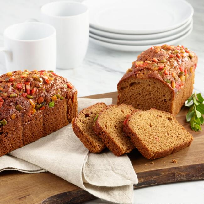 Traditional Honey Fruitcake