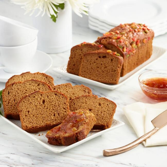 Traditional Honey Cake and Fruitcake Set of 2