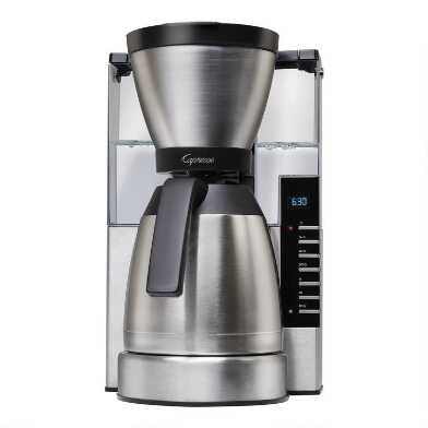 Capresso MT900 10 Cup Coffee Maker with Thermal Carafe