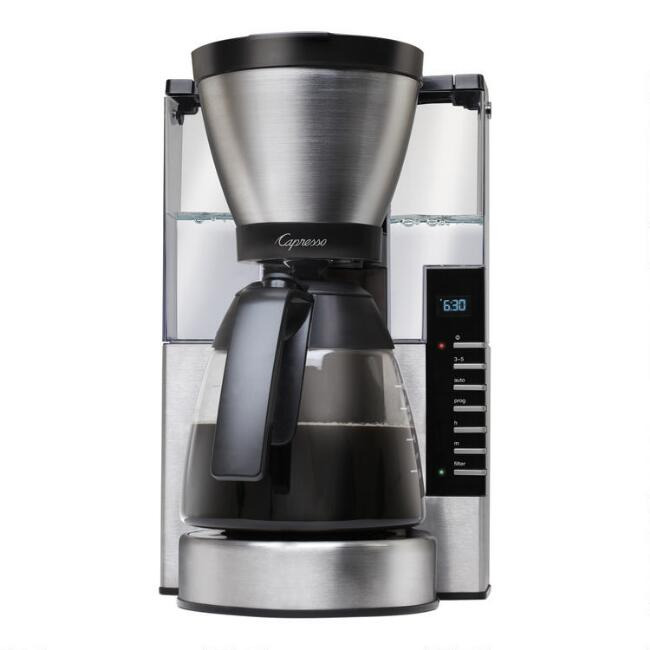 Capresso MG900 10 Cup Coffee Maker with Glass Carafe