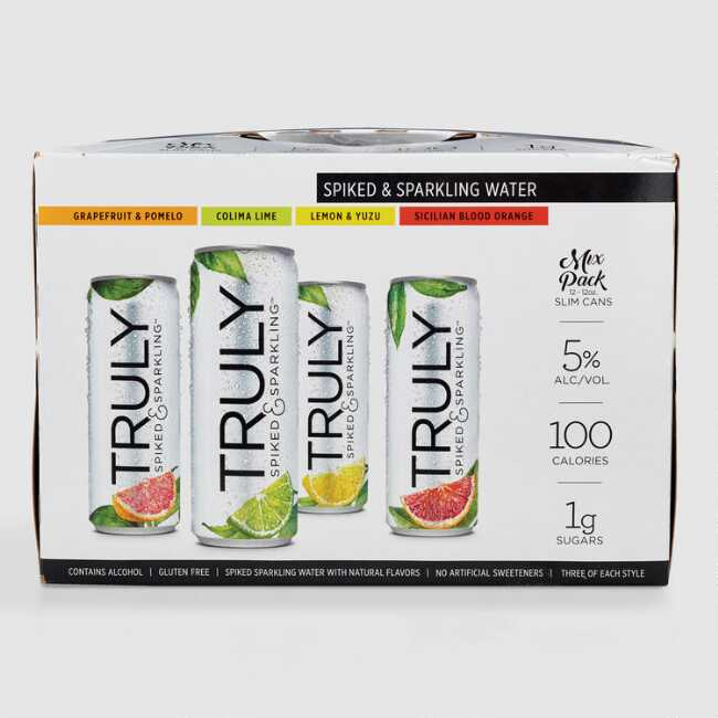 Truly Spiked And Sparkling Hard Seltzer 12 Pack