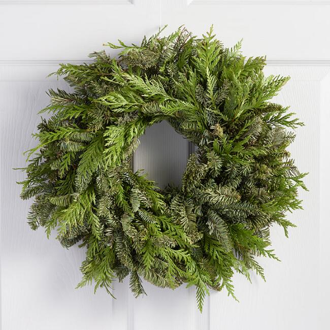 Cedar and Fir Wreath