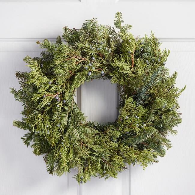Juniper and Fir Wreath