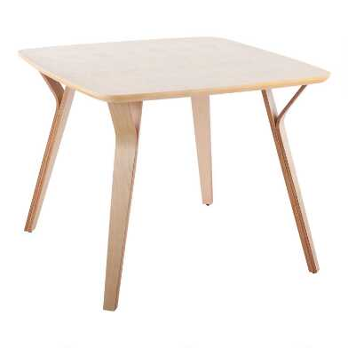 Square Wood Mid Century Joel Dining Table