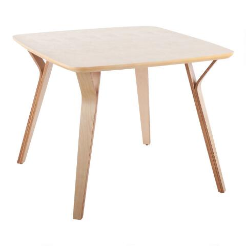 Wood Mid Century Joel Dining Table World Market